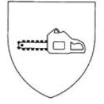 Piktogramm Schnittschutzbekleidung